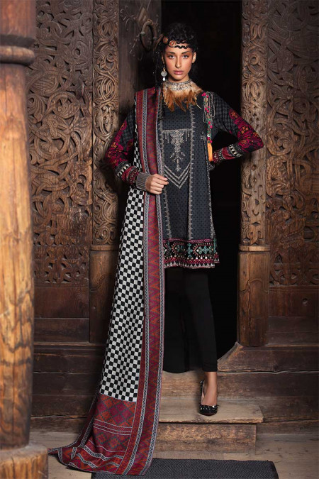 bbf9b81eed Maria.B Unstitched Linen Collection