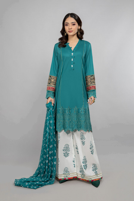 Maria B Suit Green DW-SS21-05 Eid Casual