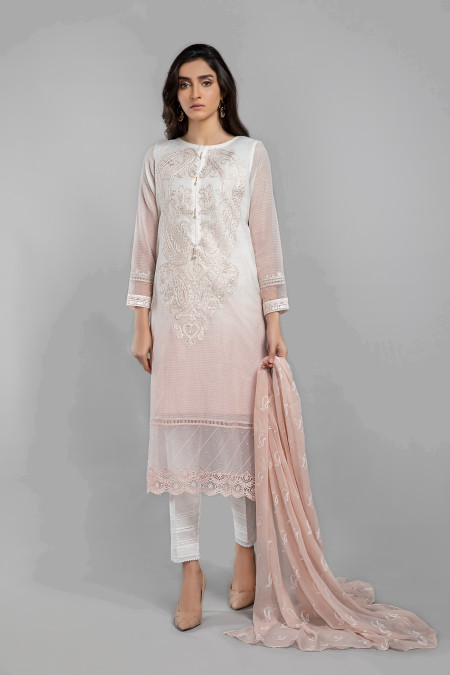 Maria B Suit Pink DW-SS21-11 Eid Casual