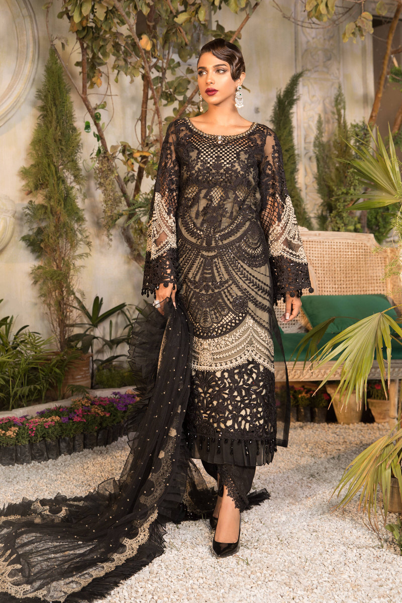 Maria B Black and Coffee BD-2106 Eid Collection