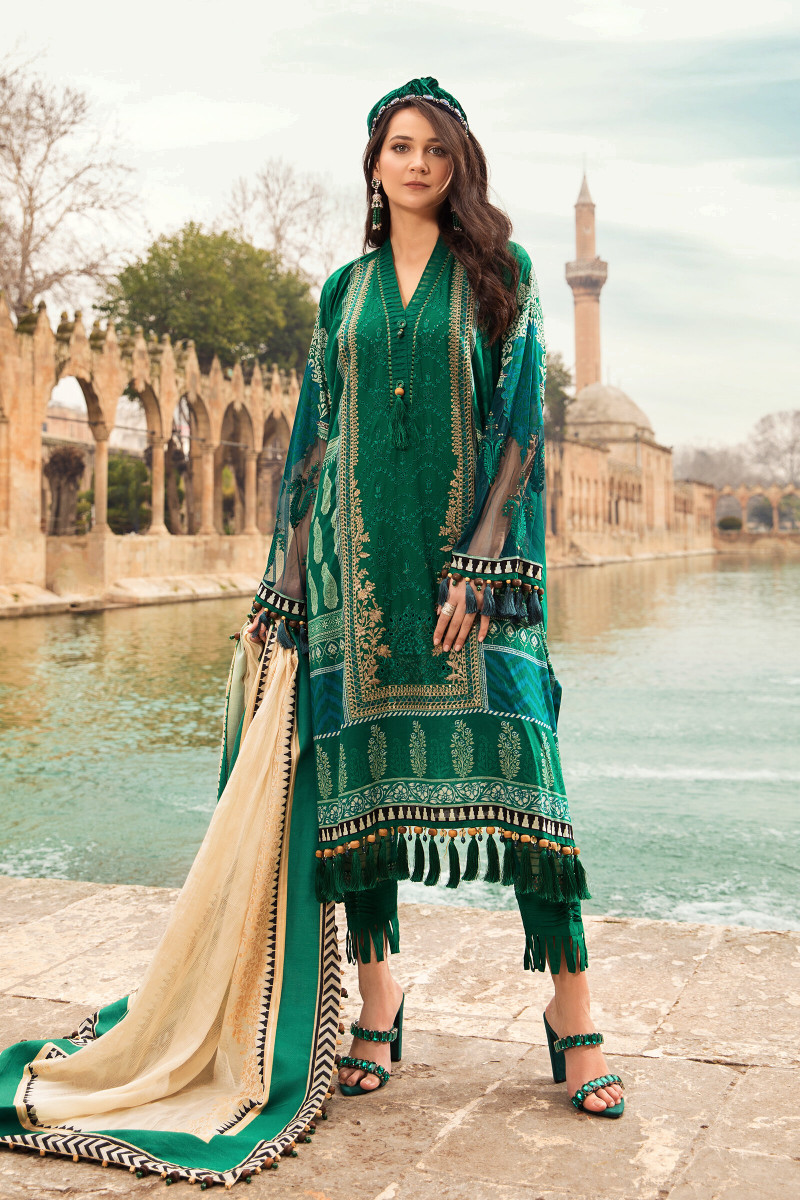 Maria B D02 B Lawn Collection