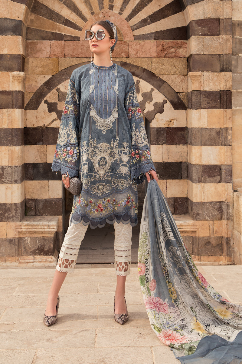 Maria B D15 B Lawn Collection