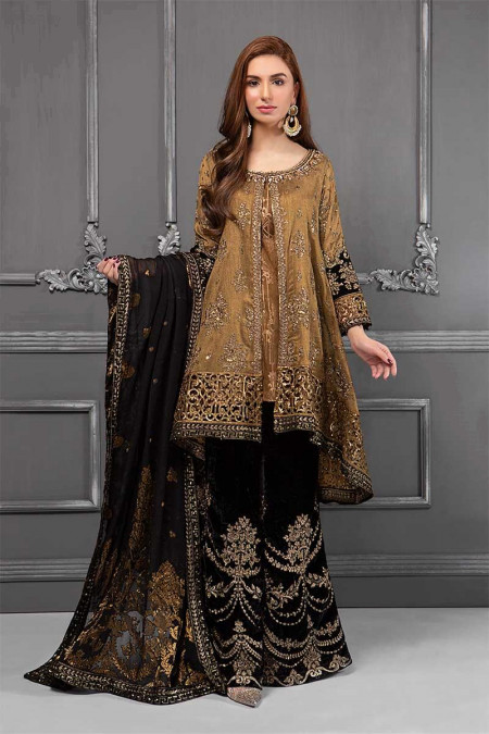 Suit Oxidized Gold & Black BDS-1508