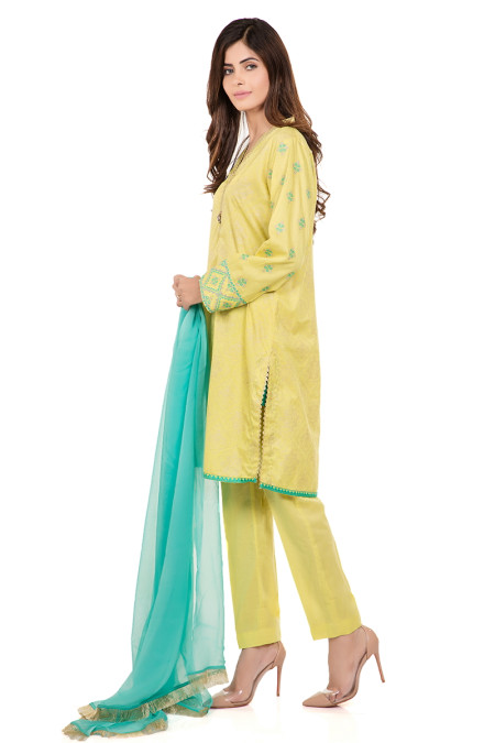 Suit Lime Green DW-2027