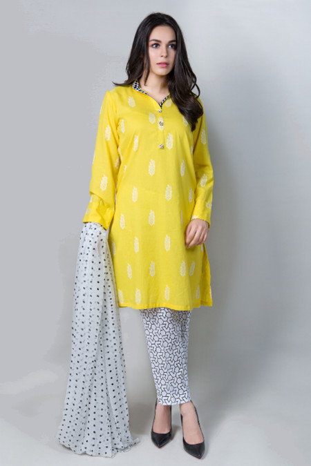 Suit Yellow DW-2043