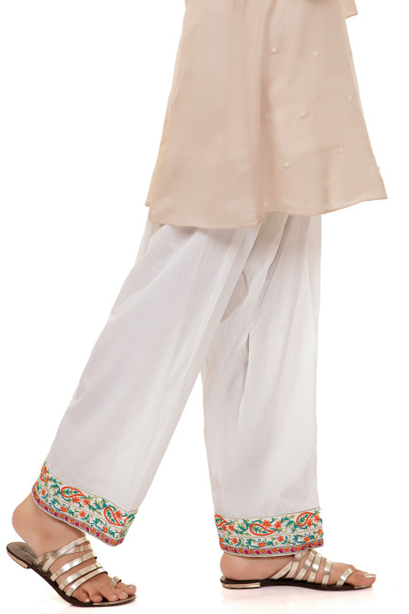 Trouser White KTR-37