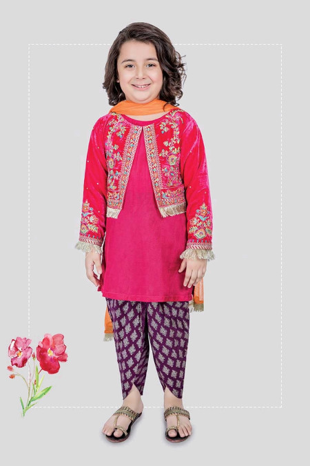 Suit Pink MKS-197