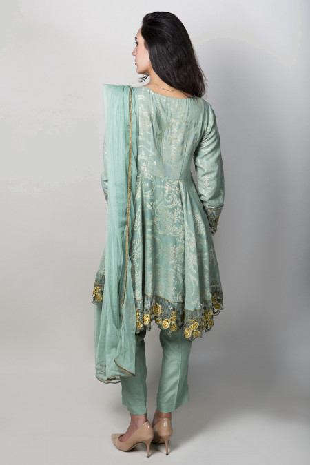 Suit Green SF-1555