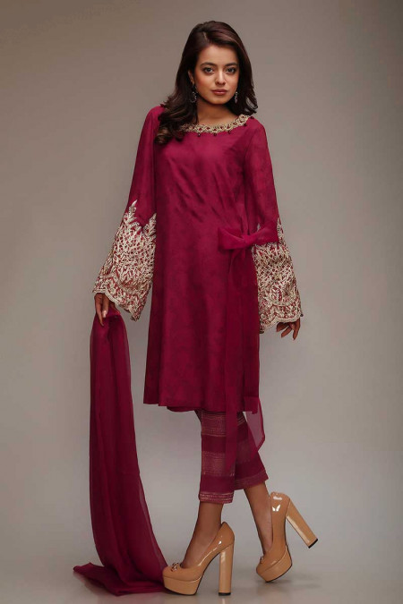 Suit Maroon SF-1608