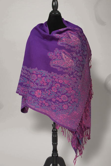 Shawl Purple SWL-01