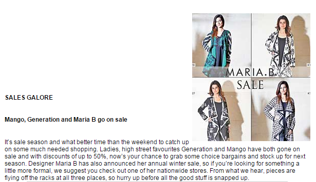 MARIA.B. - thenews.com.pk - 16th January 2015