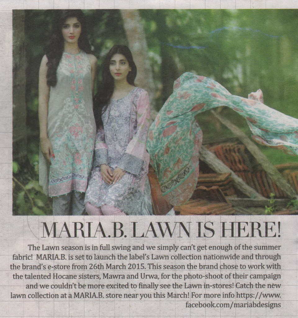 Maria B - The Nation S+ - 22 March 2015