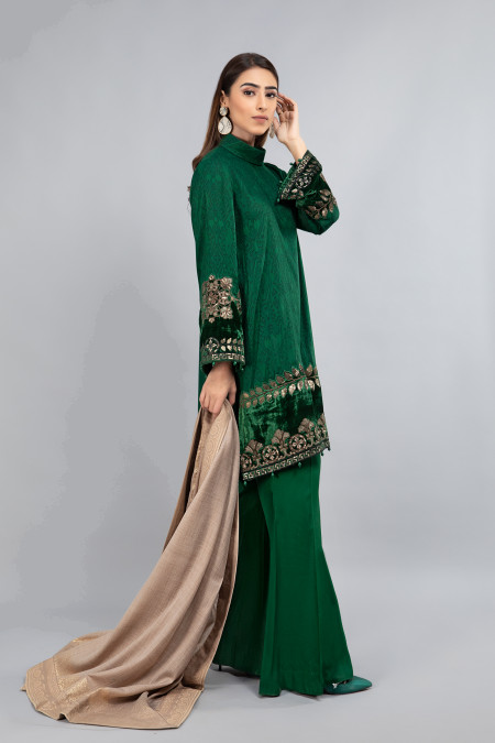 Suit Emerald Green DLS-804