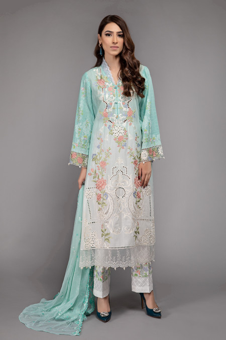 Suit Sea Green DS-2003-B