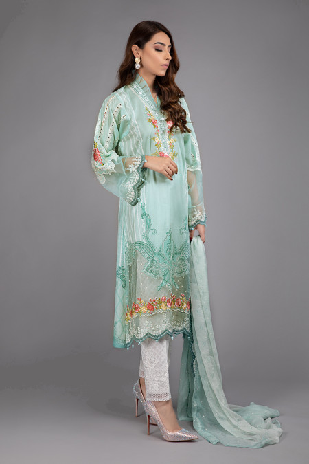 Suit Sea Green DS-2008-A