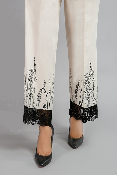 Trouser - Off White - MG-W20-55