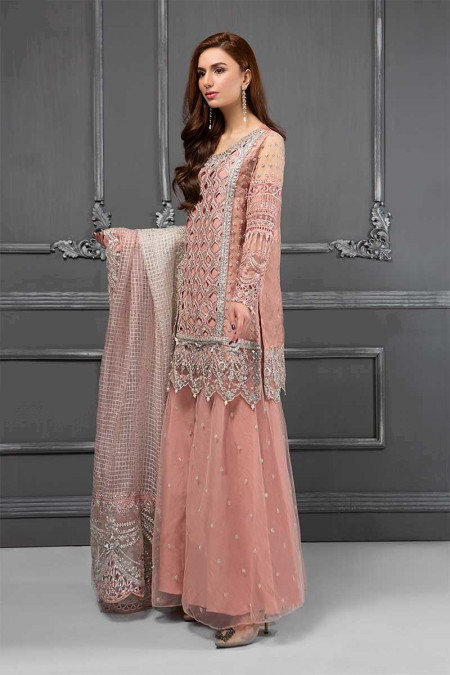 Suit Glittery Pink BDS-1506