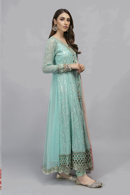 Suit Sea Green BDS-1908