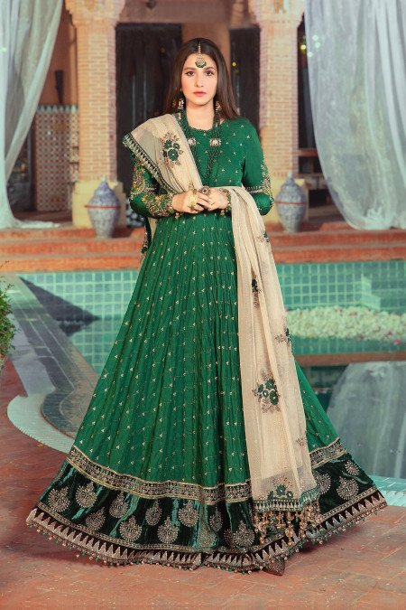 Unstitched Sateen CST-402-Emerald Green