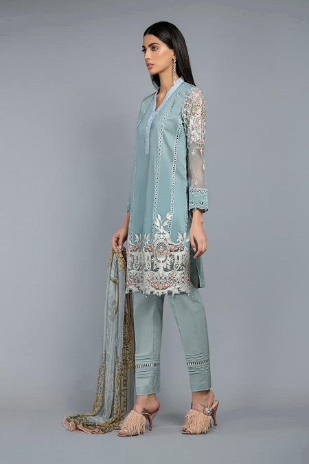Suit Greyish Blue DW-SS20-11