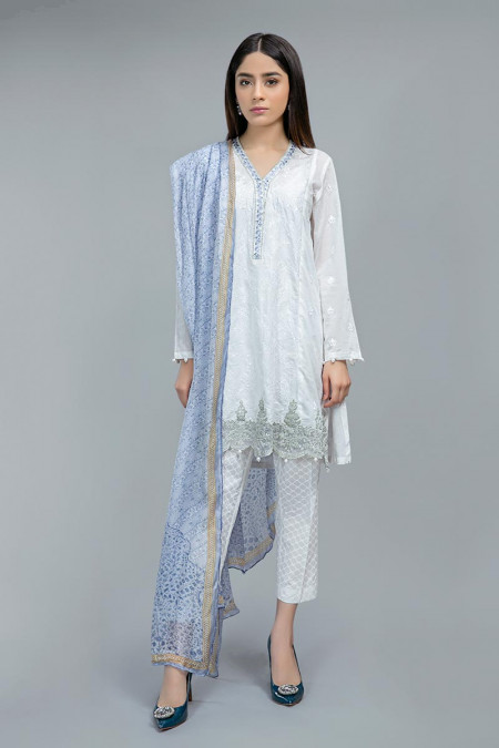 Suit White and Blue DW-SS20-23
