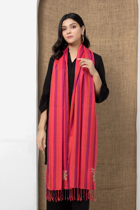 Scarf Pink MB-W21-108