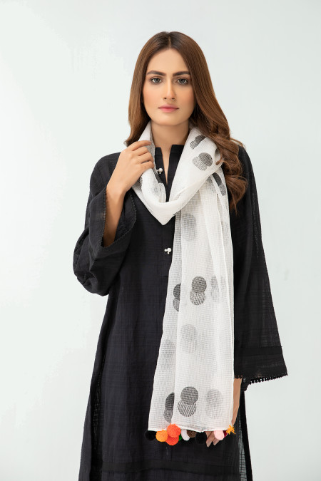 Scarf White MB-SS21-327