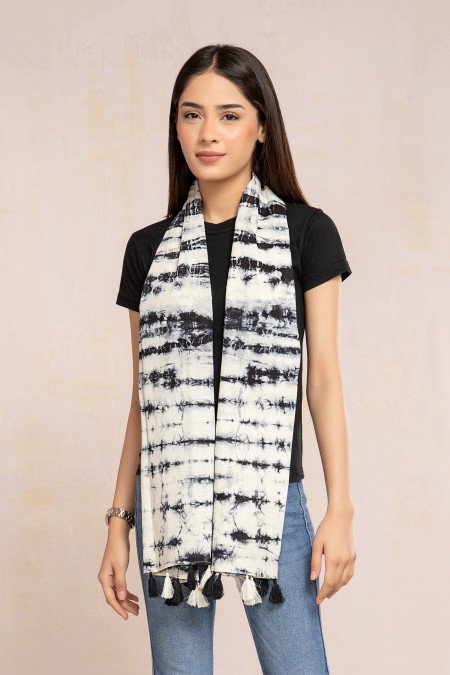 Scarf White MB-SS21-343