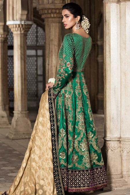 MARIA B. Couture Emerald Green MC-011