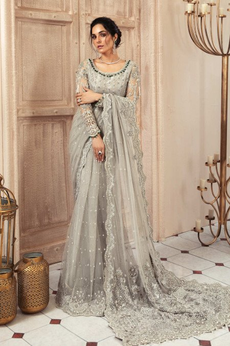 MARIA B. Couture Grey MC-037