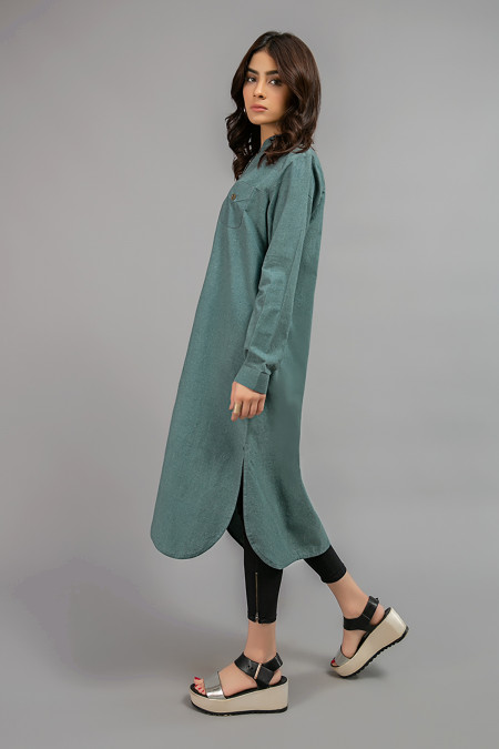 Shirt Sea Green MG-W20-38