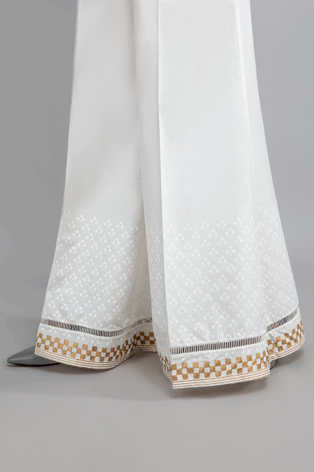 Trouser - White - MG-W20-49