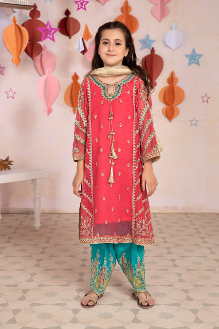 Suit Carrot Pink MKS-EA21-17