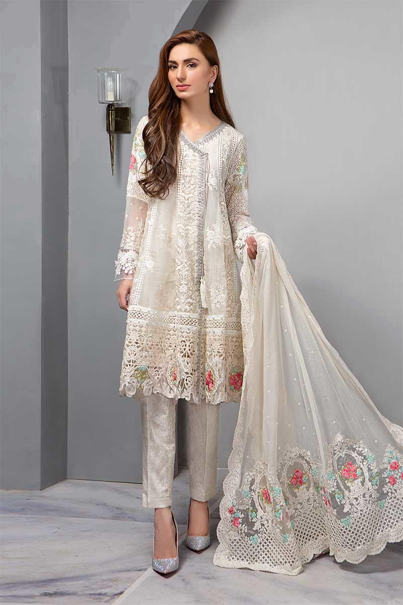 Suit Pearl White BDS-1604