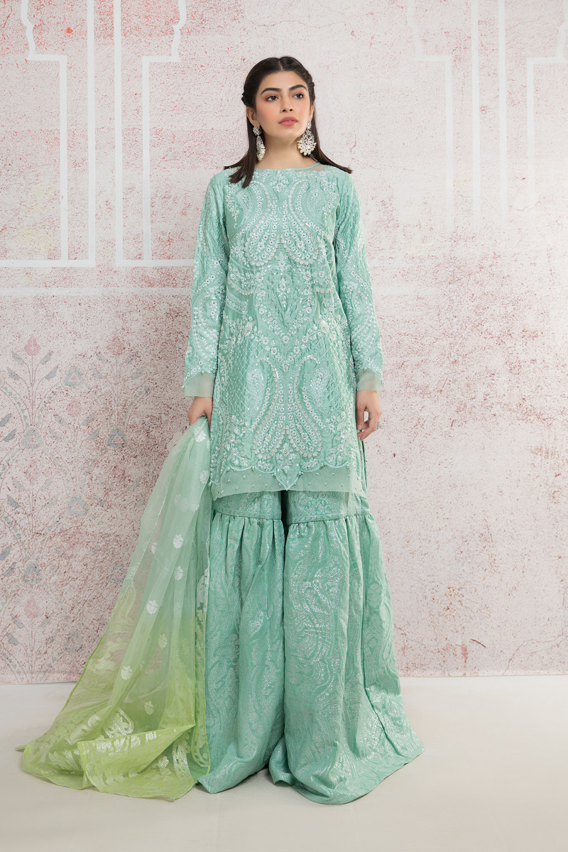 Suit Sea Green CSS-404
