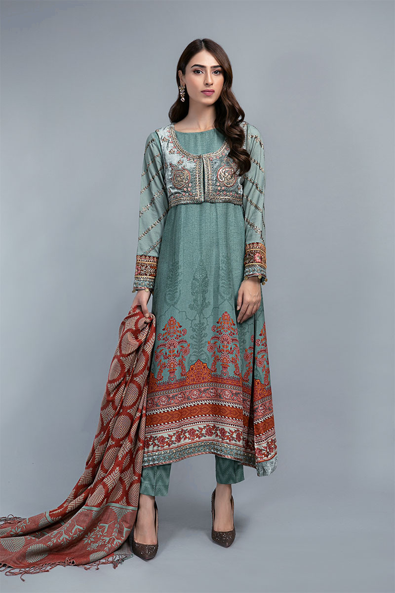 Suit Dull Teal DLS-708