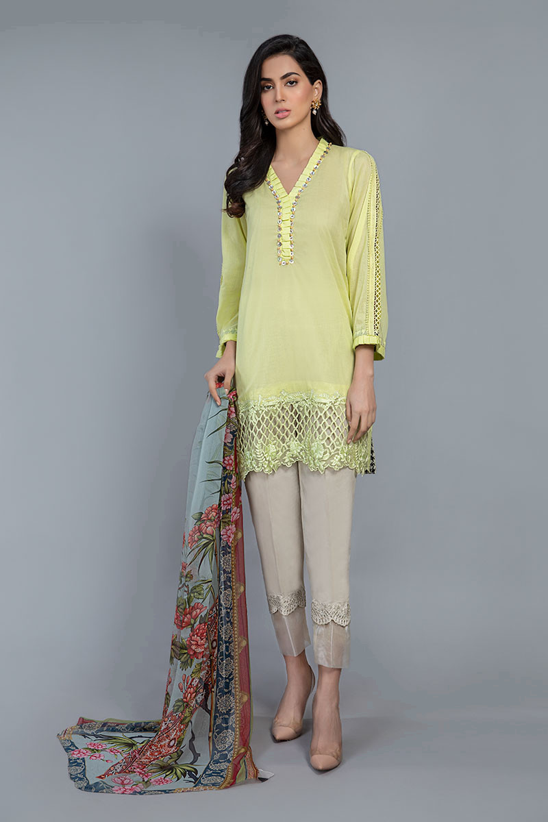 Suit Light Yellow DW-SS20-20