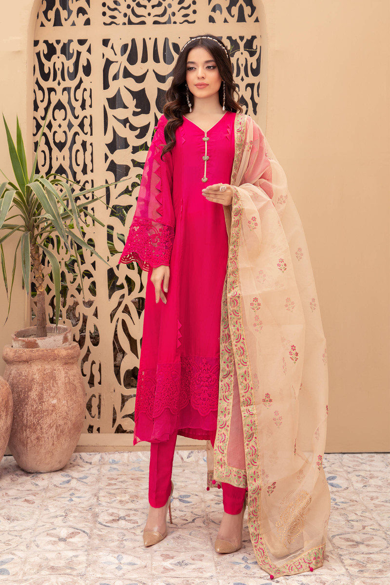 Suit Fuchsia Pink SF-EF21-13