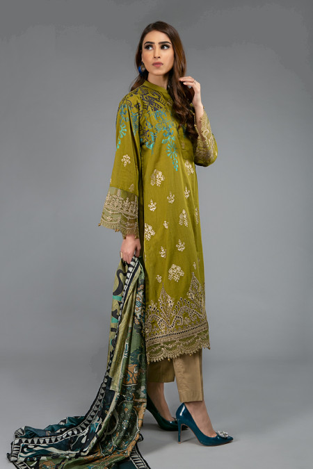 Suit Olive Green DS-2011-B