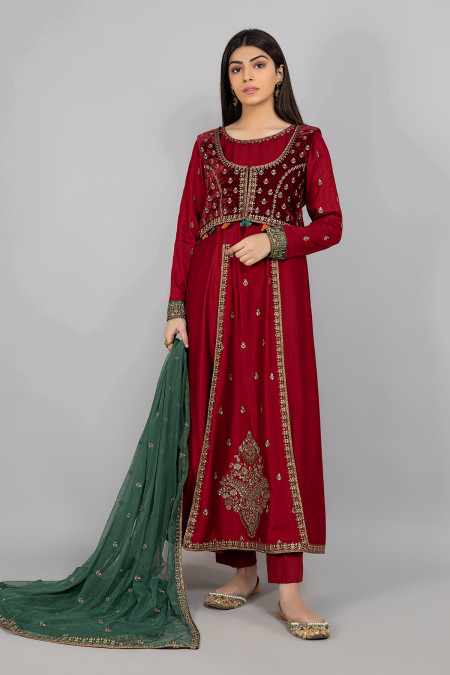 Suit Red DW-W20-06