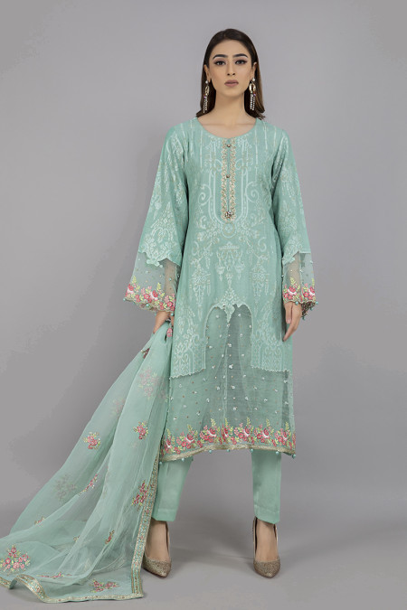 Suit Sea Green CSS-308