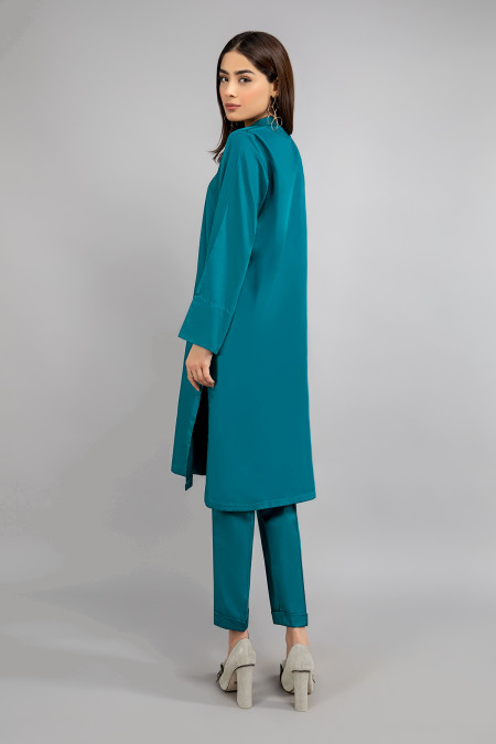 Suit Teal blue  MG-W20-11