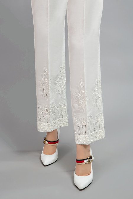 Trouser - White MG-W20-81